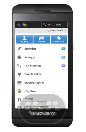 Ebay Ahora se encuentra disponible en BlackBerry 10! Para los compradores y vendedores de eBay esta aplicación hace que sea fácil de navegar, comprar, vender y administrar sus actividades eBay en cualquier momento y dondequiera que estés! Características: – Comprar, ofertar o hacer ofertas con tan sólo un par de toques.– pagar los artículos con seguridad.– Obtener notificaciones y recordatorios acerca de los artículos que terminan siendo, ofertas, pujar más destacados, nuevos elementos que coincidan con sus criterios de búsqueda guardados, mensajes nuevos y más.– Seguimiento de los envíos de paquetes para averiguar cuál es su elemento es y cuándo