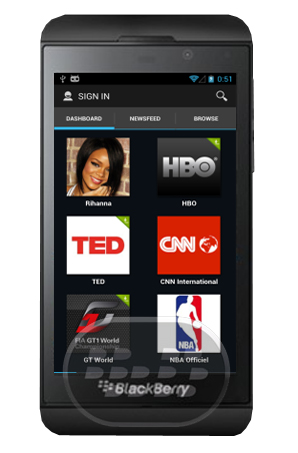 Descubre una nueva manera de disfrutar de más de 30 millones de vídeos en una interfaz inmersiva. Sigue tus usuarios favoritos, listas de reproducción, canales añadiéndolos a su propio panel de control personalizado. – Mira más de 30 millones de videos en HD– Personaliza tu salpicadero vídeo– Disfrute de una experiencia de vídeo de inmersión– Siga usuarios, listas de reproducción y canales– vídeos Compartir en Facebook y Twitter Compatibilidad BlackBerry OS 10 o Superior y PlayBook OS 10 Descarga BlackBerry World Fuente:blackberrygratuito