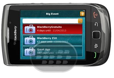 Days_UntilEvent_blackberry_app