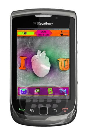 Un tema muy especial, lleno de sentimientos puros, posee un corazón real en pantalla de inicio y animado. Características:1. Tema de apoyo animado también para los dispositivos OS7!2. Diseño unico;3. Interesantes iconos de colores! Compatibilidad BlackBerry OS 4.6 o Superior BlackBerry 85xx, 89xx, 9000, 91xx, 9220, 93xx, 95xx, 96xx, 97xx, 98xx, 99xx Descarga BlackBerry World Fuente:blackberrygratuito