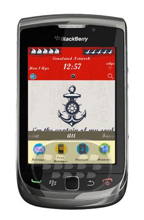"""Este tema biene con el slogan: """"I am the captain of my soul!"""", """"Yo soy el capitán de mi alma!"""" completamente el estilo de la marina e iconos creativos. Características:1. Motivar y deleitar a su día a día!2. Estilo Navy es realmente creativo e impresionante!3. Iconos Pegatina hacen el tema más encantador!4. Fuentes del arte hace que tenga un aspecto clásico. Compatibilidad BlackBerry OS 4.6 o Superior BlackBerry 85xx, 89xx, 9000, 91xx, 9220, 93xx, 95xx, 96xx, 97xx, 98xx, 99xx Descarga BlackBerry World Fuente:blackberrygratuito"""