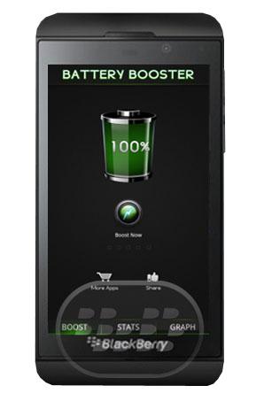 Esta aplicación permite que aumente la duración de la batería y maximizar la vida útil de esta aplicación de gran alcance. Battery Booster le permite optimizar el rendimiento de la batería que para que pueda experimentar un rendimiento de la batería de larga duración. Características:– Battery Booster función – aumenta rápidamente el rendimiento de la batería– Battery Graph – Para controlar su comportamiento Batería– Temperatura de la batería– Voltaje de la batería– Nivel de la batería Compatibilidad BlackBerry OS 10 o Superior y PlayBook Descarga BlackBerry World Fuente:blackberrygratuito