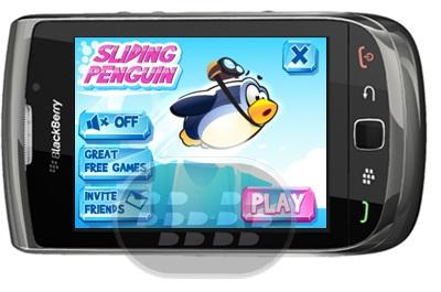Sliding Penguin es un nuevo juego de lógica en donde usted tiene que ayudar al pingüino para llegar al agujero en el hielo. No es fácil, porque hay paredes de hielo que le impedirá. El juego consiste de 24 niveles con dificultad que van incrementando progresivamente Compatibilidad BlackBerry OS 4.6 o Superior BlackBerry 8900, 89xx, 9350, 9360, 9370, 9380, 95xx, 9630, 9650, 9700, 9780, 9788, 9790, 9800 Descarga BlackBerry World Fuente:blackberrygratuito