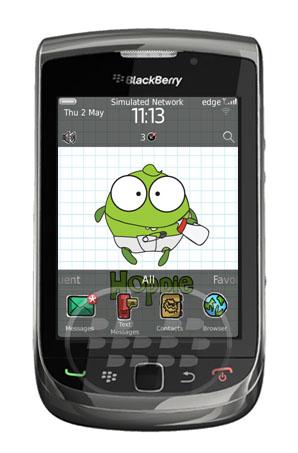Cute Hoppie: es un tema de un monstruo bebe para smartphones BlackBerry especial para chicas, obtenga un aspecto divertido y fresco a su dispositivo, los iconos son personalizados estilo caricatura, los colores del menú verde. Compatibilidad BlackBerry OS 5.0 o Superior BlackBerry 85xx, 89xx, 9000, 91xx, 93xx, 96xx, 9700, 9780, 98xx, 99xx Descarga BlackBerry World Fuente:blackberrygratuito