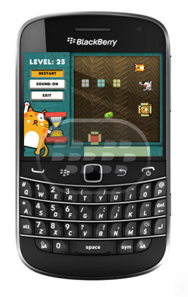 Lazy Cat es un juego de lógica. Un jugador debe ayudar al gato para encontrar el camino a su caja, el problema es que hay obstáculos con perros y píldoras, harán la misión más difícil. En los 25 niveles increíbles ayudará a pasar el tiempo con placer! Compatibilidad BlackBerry OS 4.6 o Superior BlackBerry 85xx, 89xx, 9000, 9220, 93xx, 95xx, 96xx, 97xx, 98xx, 99xx Descarga BlackBerry World Fuente:blackberrygratuito