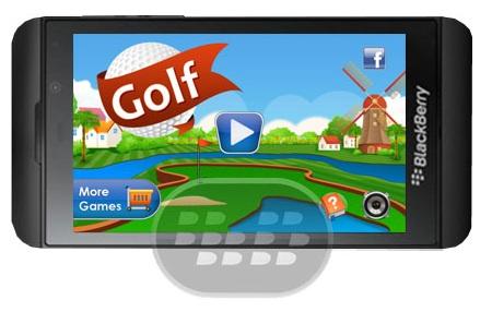 Mini Golf : Este es un bonito juego de golf con un estilo de la nueva escuela que tendrá que recordar el pasado de cómo era genial juegos en 2D y siempre lo serás! Se trata de un juego de golf de primera vista 2D para su teléfono. Usted controla la pelota con el dedo, y el campo de su camino a través de la arena, el agua, colinas y otros obstáculos. También hay un método de control de barra de potencia para un mini juego de golf más controlada. Compatibilidad BlackBerry OS 10 o Superior Descarga BlackBerry World Fuente:blackberrygratuito