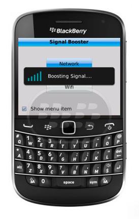 Esta es una herramienta que amplifica la señal de red de su BlackBerry, impulsa las redes móviles y Wi-Fi con un solo click. Características: – No reinicio del dispositivo necesario.-No se requiere hardware adicional.– Proceso de impulsar rápido.-Añadir Amplificador de señal a menú global Compatibilidad BlackBerry OS 5.0 o Superior BlackBerry 85xx, 89xx, 9000, 91xx, 9220, 93xx, 95xx, 96xx, 97xx, 98xx, 99xx, Z10 Descarga BlackBerry World Fuente:blackberrygratuito