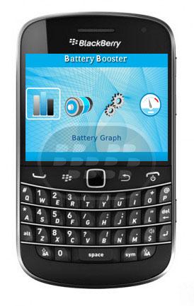 Battery Booster es una aplicación de batería todo en uno, herramienta de impulsar la gestión de la energía para BlackBerry. Proporciona la información más precisa batería, realiza un seguimiento de los cambios recientes en la batería, monitorea los procesos de drenaje de la batería, y le ayuda a lidiar con varias situaciones de pérdida de la batería en la fácilidad. Compatibilidad BlackBerry OS 5.0 o Superior BlackBerry 85xx, 89xx, 9000, 91xx, 9220, 93xx, 95xx, 96xx, 97xx, 98xx, 99xx Descarga BlackBerry World Fuente:blackberrygratuito