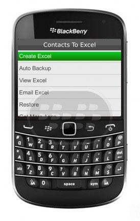 Esta aplicación le permite compartir todos los contactos en un archivo. Usted puede crear y compartir el archivo de Excel creados con esta aplicación. Enviar el archivo de Excel creado con su ID de correo electrónico o su amigo. Su amigo puede importar fácilmente los contactos de este archivo de Excel creado con la misma aplicación. Características:1. Convierte todos tus contactos en Excel.2. Archivo de Excel se pueden guardar en la tarjeta SD.3. Ver y editar el archivo en el dispositivo, así como de escritorio.5. Restablecer el contacto vie Excel creado por esta aplicación. Compatibilidad BlackBerry OS 5.0 o Superior