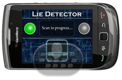 Esta aplicación es de entretenimiento, simplemente coloque su pulgar en la plataforma de escaneo, esperar a que el análisis y cálculo para completar, y la aplicación intentará determinar la verdad. Compatibilidad BlackBerry OS 5.0 o Superior BlackBerry 85xx, 89xx, 9000, 91xx, 9920, 93xx, 95xx, 96xx, 97xx, 98xx, 99xx Descarga BlackBerry World Fuente:blackberrygratuito