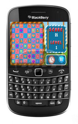 Candy Crusher: es un juego de rompecabezas, sólo toque en dos o más dulces junto a hacerlos estallar, y tratar de anotar tantos puntos como sea posible!, es un juego fácil y divertido, más de 100 tipos de combinaciones diferentes. Compatibilidad BlackBerry OS 5.0 o Superior BlackBerry 85xx, 89xx, 9000, 91xx, 93xx, 95xx, 96xx, 97xx, 9800, 99xx, Q5, Q10, Z10 y PlayBook Descarga BlackBerry World Fuente:blackberrygratuito