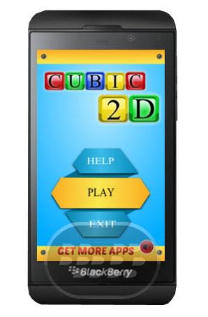 Cubic 2D es Rubix cubo del juego en 2 dimensiones! Cree el patrón si arrastra los cubos de izquierda a derecha o de arriba a abajo con un simple golpe de su dedo. Elija entre una variedad de patrones adictivos, letras / números, animales, objetos, formas, categorías abstractas! Compatibilidad BlackBerry OS 10 o Superior (Q5, Q10, Z10 y PlayBook) Descarga BlackBerry World Fuente:blackberrygratuito