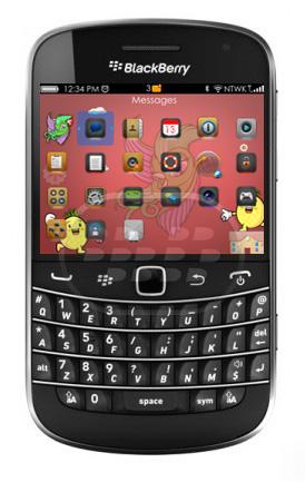 Este es un elegante tema de monstruos, con muchos elementos personalizados como el medidor de bateria, señal e iconos, pero recuerde que las pantallas de llamadas en OS 7.0 y 7.1 no son personalizadas debido a las limitaciones del theme builder. Compatibilidad BlackBerry OS 5.0 – 7.1 BlackBerry 85xx, 89xx, 9220, 93xx, 9630, 9650, 97xx, 98xx, 99xx Descarga BlackBerry World Fuente:blackberrygratuito