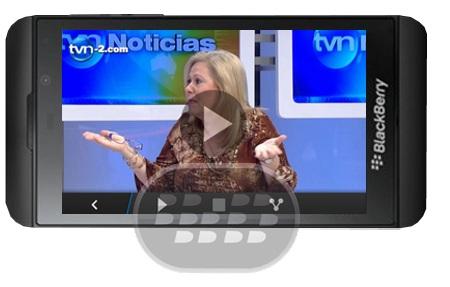 Manténgase al día con las últimas noticias en Panamá y en todo el mundo.Tenga acceso a TVN-2.com e informes con las noticias noticia en minutos, deportes, entretenimiento, cámaras de tráfico cerca de Ciudad de Panamá. Nunca será tarde para ir al cine de nuevo con TVN-2.com móvil, podrá& ver la película en la base de datos segun los horarios de los espectáculos más actualizada en Panamá es ahora a su alcance. Vota en nuestra encuesta semanal, siempre encontrará las últimas loterías, y por supuesto nuestro programa de tv. Si ver otros canales de televisión de Panamá Click Aquí Compatibilidad BlackBerry