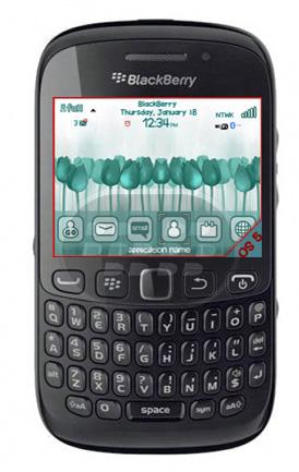 CutieTulips: este es un tema de tulipanes de color turquesa, los iconos, medidor de bateria y señal con personalizados, es compatible con los smartphones BlackBerry con sistema operativo 5.0 – 7.1 Compatibilidad BlackBerry OS 5.0 – 7.1 BlackBerry 85xx, 89xx, 91xx, 9220, 93xx, 95xxm 96xx, 97xx, 98xx, 99xx Descarga BlackBerry World Fuente:blackberrygratuito