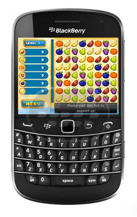 De los creadores de Bubble Birds llega estr otro juego de rompecabezas, alimente a Draco el Dragón mediante el canje de colorido, fruta jugosa para que coincida con 3 o más! Explore los númerosos desafiantes niveles y modos de juego en el hermoso mundo de la búsqueda de Frutas. Compatibilidad BlackBerry OS 5.0 – 7.1 BlackBerry 85xx, 89xx, 9220, 93xx, 96xx, 97xx, 98xx, 99xx Descarga BlackBerry World Fuente:blackberrygratuito