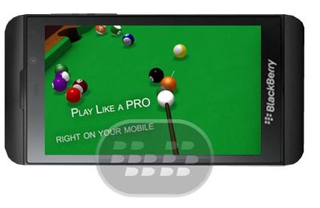 Este es un muy buen juego de billar 3D en alta definición, tiene excelentes efectos y gráficos en tercera dimensión decente y realista, hay 3 modos de juegos: easy, medium y hard. Logros en el juego para retos, gire alrededor de 4 caracteres y cambio de la vista de cámara. Compatibilidad BlackBerry OS 10 o Superior Descarga BlackBerry World Fuente:blackberrygratuito