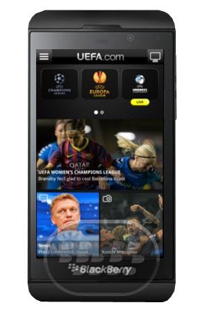 Esta es la aplicación oficial de la UEFA que abre al mundo el fútbol europeo incluyendo la UEFA Champions League, la UEFA Europa League y competiciones de todos los de la UEFA. Disfrute de: Resultados en directo, alertas modificado para Las novedades de las competiciones de la UEFA, Fotos: Partidos y detrás de las escenas, las últimas posiciones, los vídeos más destacados – en una base de primas. Compatibilidad BlackBerry OS 10 o Superior y PlayBook Descarga BlackBerry World Fuente:blackberrygratuito