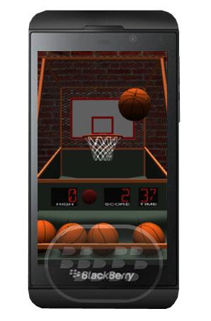 Lanze tantos tiros al aro como sea posible en este juego de baloncesto estilo arcade. Presione intermitente botón rojo para iniciar el juego. Arrastre y suelte pelota para lanzar. Después de 30 segundos, el tableto comenzara a desplazarse mueva más atrás, pero encestar tendrán un valor de 3 puntos! Anotar tantos puntos como puedas en 60 segundos. Compatibilidad BlackBerry OS 10 o Superior (Q5, Q10, Z10, Z30) Descarga BlackBerry World Fuente:blackberrygratuito
