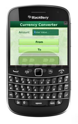 Esta aplicación le permite convertir divisas en tiempo real para casi todas las monedas. Ideal para cuando viaja al extranjero y la necesidad de obtener o calcular los últimos tipos de cambio. Convierte el valor o la cantidad de una moneda a los valores relativos o las cantidades de otras monedas. Utiliza las últimas tasas de interés de Internet para hacer la conversión. Compatibilidad BlackBerry OS 5.0 – 10 BlackBerry 85xx, 89xx, 91xx, 9220, 93xx, 96xx, 97xx, 98xx, 99xx, Q5, Q10, Z10 y Z30 Descarga BlackBerry World Fuente:blackberrygratuito