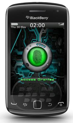 Esta aplicación le permite simular seguridad de alta tecnología para su BlackBerry. Es un bloqueo único que explora su dedo y le permite utilizar su dispositivo. Así que de ahora en adelante, sólo tú podrás decidir quién va a usar el teléfono. NOTA: esta aplicación realmente no escanea su huella digital, sino que detecta el número de exploración o sonidos previamente configurado, para que los demás crean que su dispositivo necesita ser explorada por su huella digital. Compatibilidad BlackBerry OS 5.0 – 7.1 BlackBerry 85xx, 89xx, 91xx, 9220, 93xx, 95xx, 96xx, 97xx, 98xx, 99xx Descarga BlackBerry World Fuente:blackberrygratuito