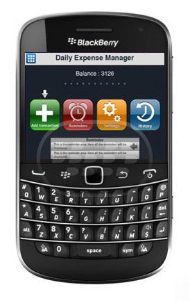 Esta aplicación le permite gestionar las finanzas personales con funcionalidad múltiple, actúa como su manager personal, gerente de finanzas , perseguidor de ahorro, gestor de finanzas personales, director del presupuesto, control de gastos diarios, calculadora de ingresos, organizador de efectivo, escáner de la recepción, planificador financiero, etc, en pocas palabras lleva un registro de sus finanzas. Compatibilidad BlackBerry OS 5.0 – 7.1 BlackBerry 85xx, 89xx, 91xx, 9220, 93xx, 96xx, 97xx, 98xx, 99xx, Q5, Q10, Z10, Z30 Descarga BlackBerry World Fuente:blackberrygratuito
