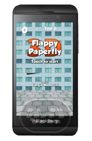 Este juego es similar a flappy bird, usted lo que tiene que hacer es tocar la pantalla para empujar el avión de papel como un pajaro y evite las paredes o muros de concreto. le recordamos que este juego es muy dificil. Compatibilidad BlackBerry OS 10 o Superior (Z10, Z30) Descarga BlackBerry World