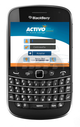 Banco Activo siempre con el objetivo de comprender y satisfacer las necesidades de sus clientes, ha creado un servicio llamado Movil Activo , disponible para todos los clientes que utilizan nuestro servicio en línea Activo en Linea Personas y que tienen los dispositivos móviles inteligentes ( smartphones BlackBerry, iPhone y Android , tabletas Android y iPad) Compatibilidad BlackBerry OS 5.0 – 7.1 BlackBerry 85xx, 89xx, 91xx, 9220, 93xx, 95xx, 96xx, 97xx, 98xx, 99xx Descarga BlackBerry World Fuente:blackberrygratuito