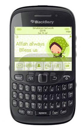 Este tema es en celebración del dia de Eid Mubarak, una festividad religiosa de la tradición islámica. posee un homescreen o pantalla adaptado al a temática, los iconos el medidor de batería y señal son totalmente personalizados, el color predominante es el verde claro. Recuerde que en BlackBerry OS 7.0 algunos elementos no funcionan como el icono de la música que se oculta automáticamente, el boton de busqueda universal. Compatibilidad BlackBerry OS 5.0 – 7.1 BlackBerry 85xx, 89xx, 91xx, 9220, 93xx, 95xx, 96xx, 97xx, 98xx, 99xx Descarga BlackBerry World