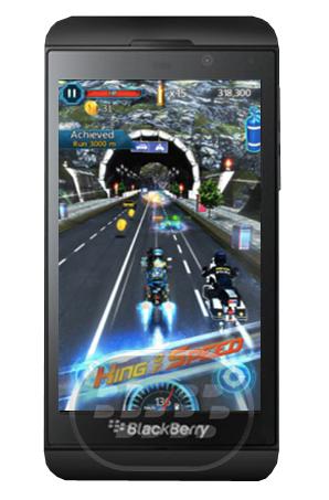 Experimente la adrenalina Death Racing 3D un juego sin fin, lo único que tiene que hacer es mantenerse en el camino y derrotar a los enemigos mientras consiga aceleración, asegúrese de recoger suficiente nitro de lo contrario se quedara atrás, puede publicar en facebook y compartir sus experiencias con sus amigos, pero también puede acceder a la tienda para comprar armas y otros poderes. Compatibilidad BlackBerry OS 10 o Superior (Z10, Z30, Z3 y Passport) Descarga BlackBerry World