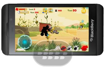 Este es un juego de batalla de abejas, lo que tiene que hacer es dispararle a la abejas suicidas que cargan bombas. Usted tendrá que enfrentarse a los jefes que están equipadas con superarmas con mucho cuidado porque pone en peligro su vida, recuerde recoger objetos para equipar el armamento y aumentar su salud. Compatibilidad BlackBerry OS 10 o Superior (Z10) Descarga BlackBerry World