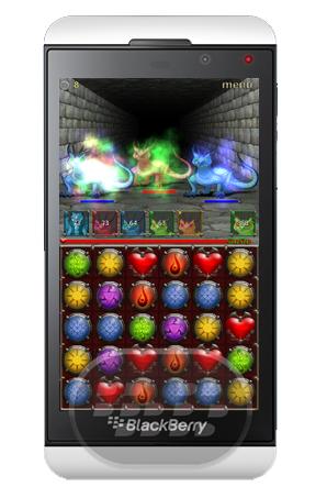 Puzzle y Dungeons es un juego adictivo de rompecabezas de 3 combinaciones con el clásicoRPG de monstruos. Combina tres orbes del mismo color para atacar guardianes de las mazmorras. Coincidir con más de tres orbes para más daño. Recuerde, usted puede mover un orbe a cualquier posición en el campo del orbe. Hay más de 100 monstruos únicos, que se pueden combinar en un equipos diferentes. Utilice susequipos para despejar las mazmorras, fusionar sus criaturas juntos para hacerlos más fuertes,Se requiere una conexión a Internet para jugar el juego. Compatibilidad BlackBerry OS 10 o Superior (Q5, Q10, Z10, Z30, Z3,