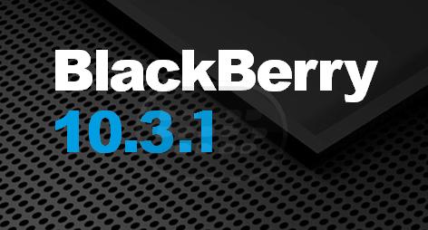 BlackBerry OS 10.3 apareció oficialmente con el lanzamiento de la BlackBerry Passport. Sin embargo los anteriores dispositivos BlackBerry 10 no van a recibir esa actualización, en lugar de ellos se actualizarán a sistema operativo 10.3.1 ya que trae una experiencia más refinada e incorpora características de los clásicos dispositivos anteriores. Según lo revelado en global roadmap 2014, la actualización se produciría tras el lanzamiento del próximo BlackBerry Classic, se esperaba que el lanzamiento en noviembre de este año. La liberación de BlackBerry Classic marcará el comienzo de la puesta en marcha de OS 10.3.1. Sin embargo, el CEO de BlackBerry,