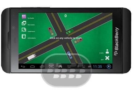 Desarrollado por Birla Games, este juego es de ritmo rápido y difícil con efectos gráficos geniales, con una jugabilidad sencilla hecha para todas las edades, incluso los niños podrán disfrutar de ella. su objetivo es controlar efectivamente el tráfico de entrada de los vehículos que vienen de todas las direcciones y que dejen de chocar entre sí en la ciudad. Simplemente haga clic en los coches para hacerlos ir más rápido. Compatibilidad BlackBerry OS 10 o Superior (Z10, Z30, Z3, Passport) Descarga BlackBerry World